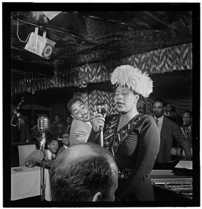 [Portrait of Ella Fitzgerald, New York, N.Y., ca. Nov. 1946] William P. Gottlieb [Public domain], via Wikimedia Commons